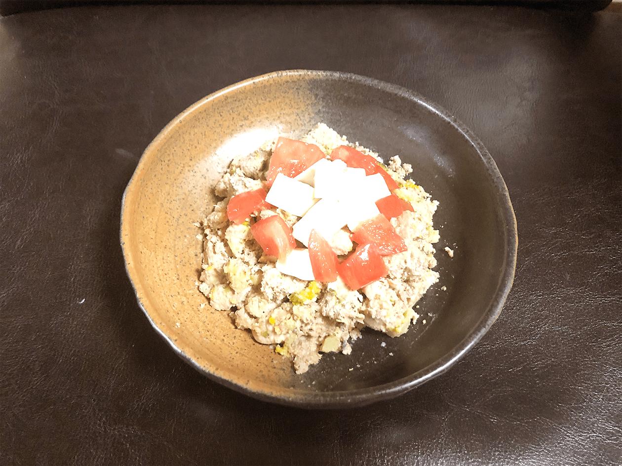 手作りドッグフードをアレンジしよう!【豆腐&トマトのふわふわグルメ】
